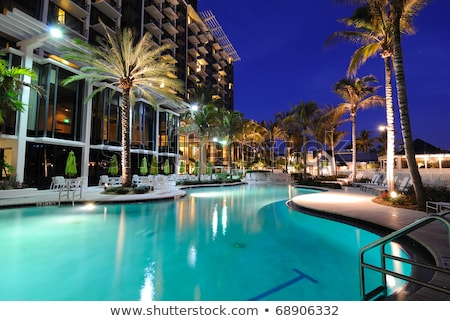 night tropical hotel stock photo © paha_l