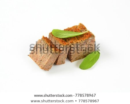 pork and liver meatloaf Stock photo © Digifoodstock