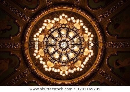 Szczegół żyrandol świetle domu wystrój wnętrz pionowy Zdjęcia stock © monkey_business