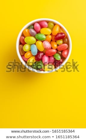 Jellybeans in a bowl Stock photo © IS2