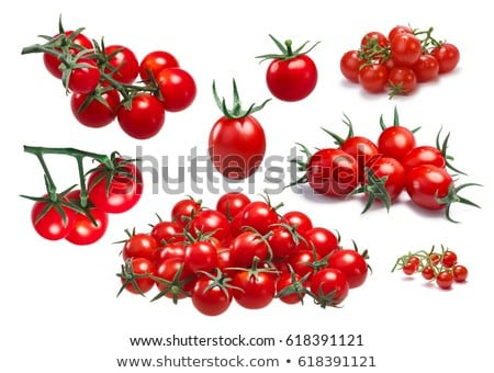 Grape cherry cocktail tomatoes, paths Stock photo © maxsol7