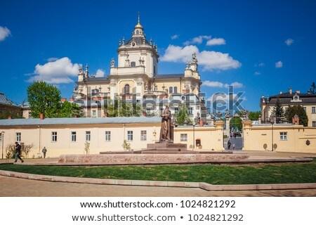 st george cathedral lviv ukraine stock photo © borisb17