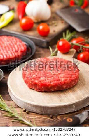 serpenyő · serpenyő · olaj · fekete · főzés · föld - stock fotó © denismart