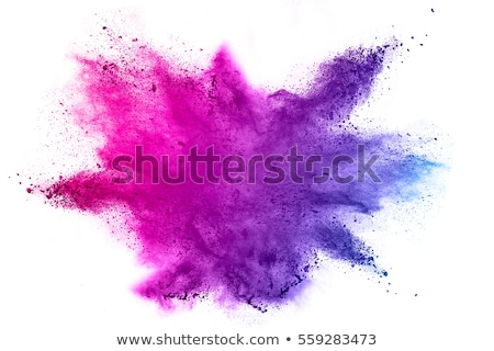 abstract red and blue color splash holi background Stock photo © SArts