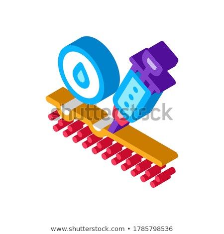 Subcutaneous Injection for Rejuvenation isometric icon vector illustration Stock photo © pikepicture