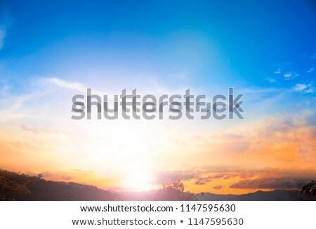Earth in fog Stock photo © Elenarts