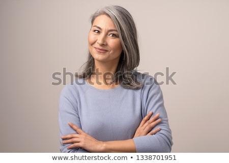 портрет женщину студию белый девушки Сток-фото © RuslanOmega