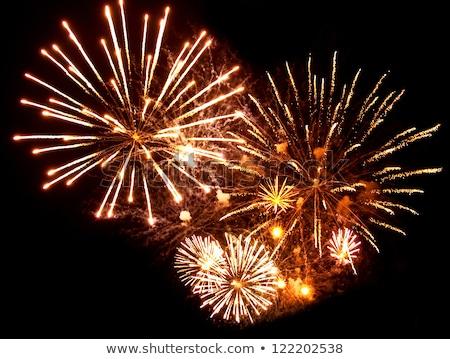 nice color fireworks Stock photo © jonnysek
