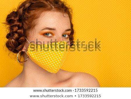 довольно · молодые · красный · черное · белье · девушки - Сток-фото © disorderly