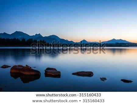 Lake Hopfensee Zdjęcia stock © manfredxy