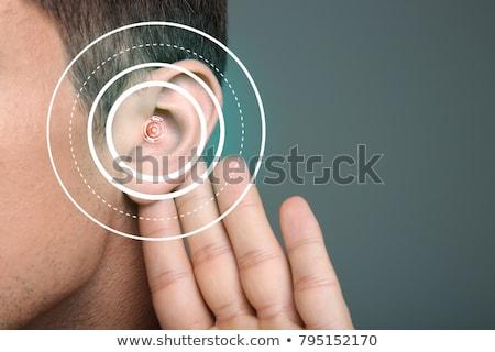 Deafness Diagnosis. Medical Concept. Stock photo © tashatuvango