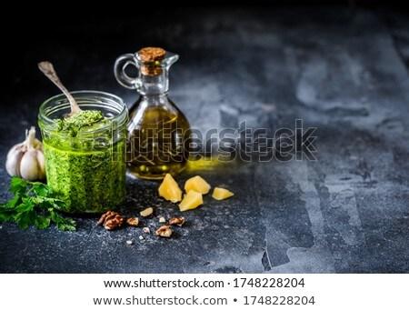 macarrão · aperitivo · frigideira · comida · tomates · ninguém - foto stock © Digifoodstock