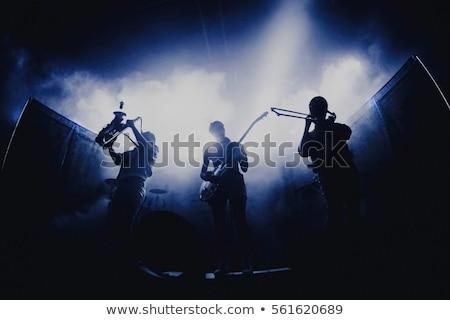 Előad éjszakai klub színpad nő buli férfi Stock fotó © wavebreak_media