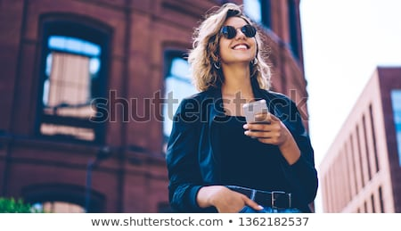 Mobile millennial Stock photo © pressmaster