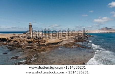 View of Atlantic Ocean from Punta Jandia, Fuerteventura Stock photo © hamik