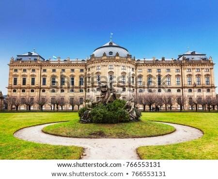 Residenza Germania palazzo sera viaggio Europa Foto d'archivio © borisb17