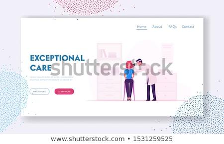 doctor otolaryngologist, medicine and health. medical professional Stock photo © studiostoks