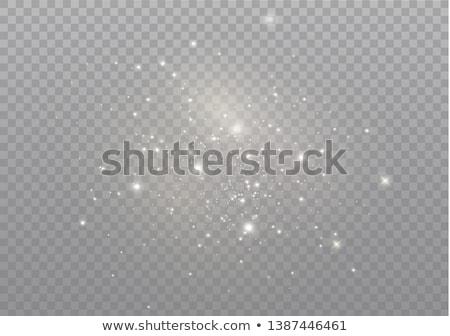 Illustration with bright sparkles Stock photo © sanyal