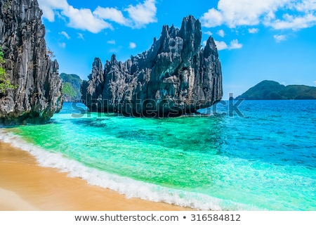 deserted tropical island stock photo © clearviewstock