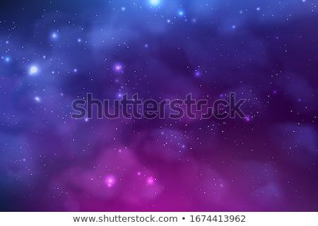 Mély lila varázslatos fantázia absztrakt minta Stock fotó © kentoh