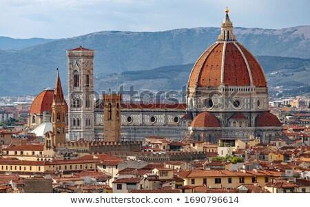florence · Itália · ver · cidade · arte · pedra - foto stock © ajlber