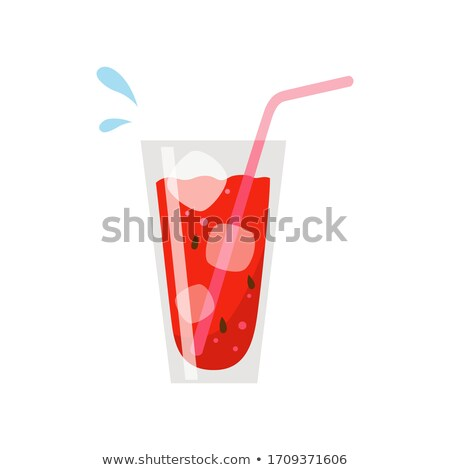 glass of red juice Stock photo © adam121