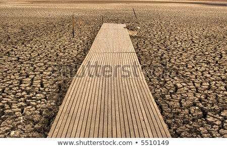 Dry Lake Wendouree Foto stock © clearviewstock