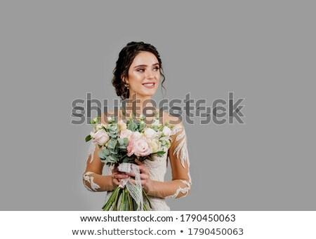 Mulher belo vestido olhando lado mulher jovem Foto stock © feedough