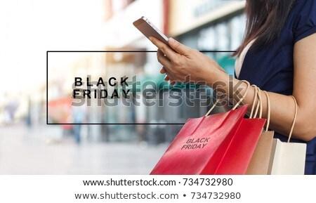 black · friday · dia · ação · de · graças · Estados · Unidos - foto stock © wetzkaz