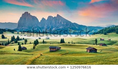 bois · village · Autriche · maison · mail · lettre - photo stock © meinzahn