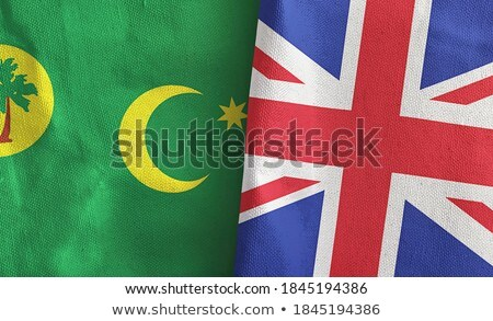 United Kingdom and Cocos (Keeling) Islands Flags Stock photo © Istanbul2009