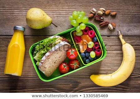 Diet - an inscription from children's blocks Stock photo © CaptureLight