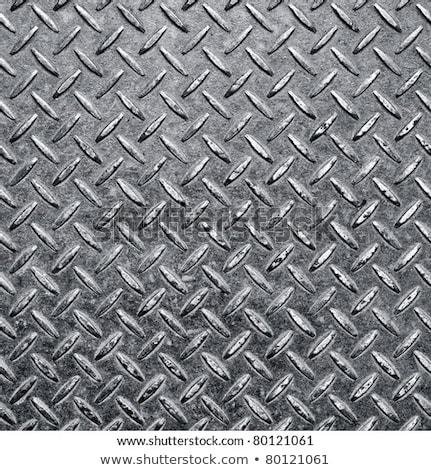 Aluminum diamondplate background Stock photo © njnightsky