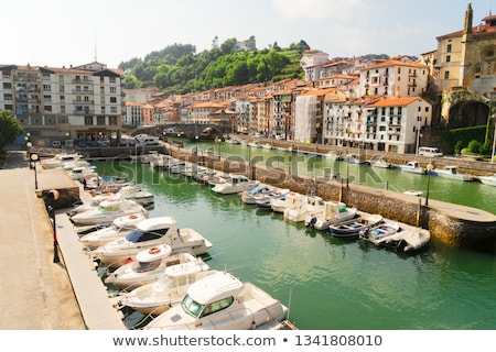 ondarroa town and port stock photo © neirfy