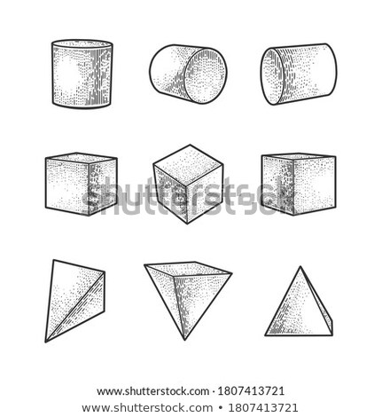 Cube pyramid Stock photo © romvo