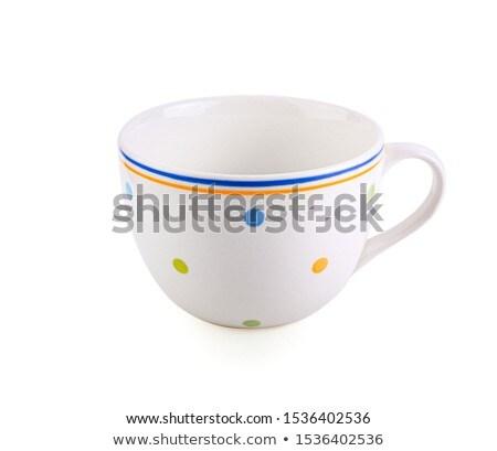 fehér · bögre · üres · kávé · tea · izolált - stock fotó © shutswis