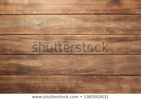 Houten tafel grunge muur lege beton product Stockfoto © stevanovicigor