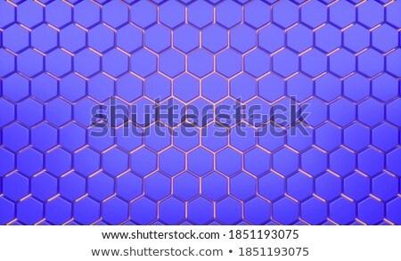 3D · spektrum · mozaik · vízszintes · fekete · copy · space - stock fotó © zebra-finch