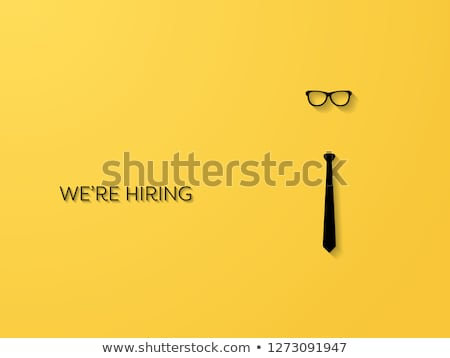 Job Offer Yellow Vector Icon Design Stock photo © rizwanali3d