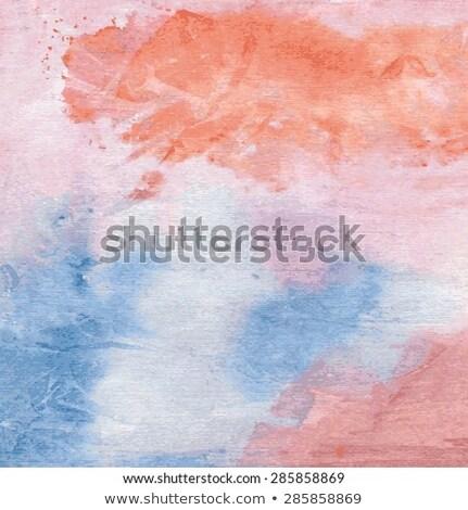 Handgemaakt creatieve Rood muur voorraad foto Stockfoto © punsayaporn