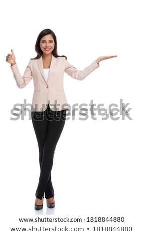 деловая женщина презентация белый женщину заседание Сток-фото © wavebreak_media