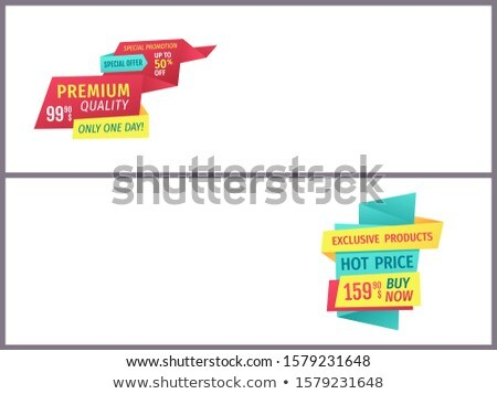 Big Sale Mega Discount and Hot Price Page Sample Stock photo © robuart