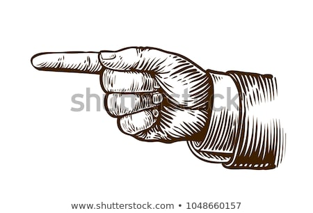 Hand Pointing Finger Direction In Business Suit Stock photo © Krisdog