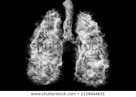 insan · akciğer · hastalık · sağlık · solunum - stok fotoğraf © lightsource