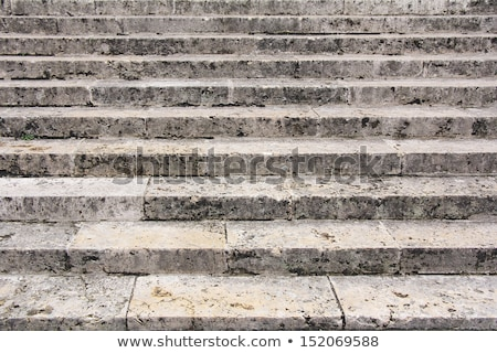 Old damaged stone staircase Stock photo © boggy