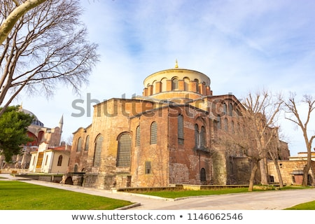 Greek Eastern Orthodox church Hagia Irene in Istanbul, Turkey Stock photo © boggy