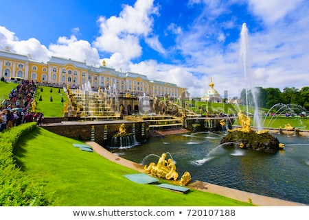 Grand Peterhof Palace, Russia Stock photo © borisb17