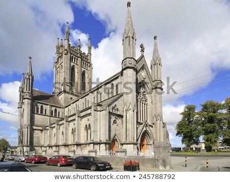 Katedral İrlanda görmek kilise Roma Stok fotoğraf © borisb17