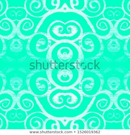 新鮮な 緑 石灰 フローラル 曼陀羅 テクスチャ ストックフォト © shawlinmohd
