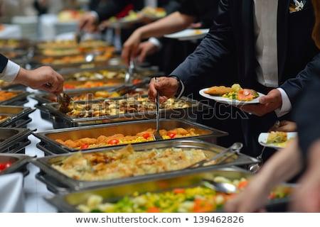 Wedding Appetizer Cakes Сток-фото © dotshock